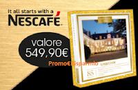 Logo Nescafè : vinci subito cofanetti Smartbox ''Oro''