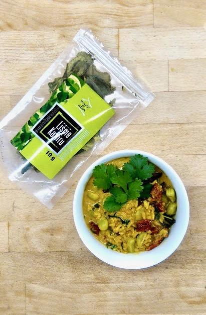 Kuchnia Dalekiego Wschodu - Curry na mleku kokosowym.