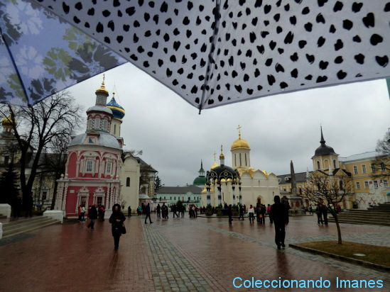 Visita en tren a Sergiev Posad