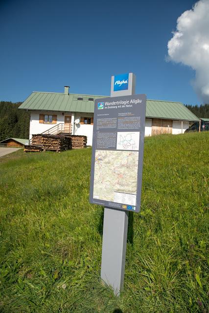 Wandertrilogie Allgäu  Etappe 43  Balderschwang - Grasgehren  Himmelsstürmer Route 16