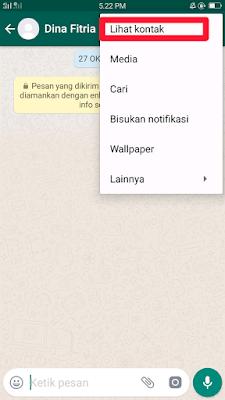 Cara Cek Kontak WhatsApp yang Sering Kita Hubungi