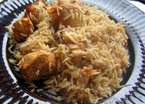Quick, easy and yummy chicken pilau recipe