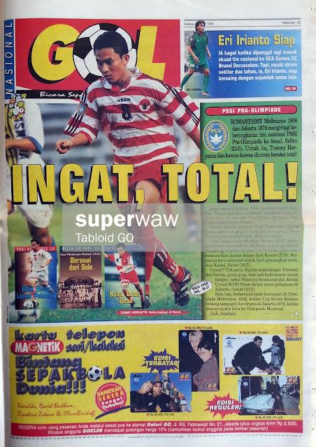 GOL INTERNASIONAL: INGAT, TOTAL!