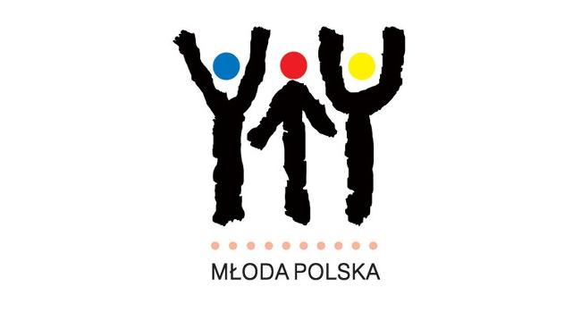 Logo konkursu Młoda Polska dla młodych artystów