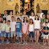 LOS CINCO MENORES SAHARAUIS ACOGIDOS ESTE VERANO EN JUMILLA SON RECIBIDOS EN EL AYUNTAMIENTO
