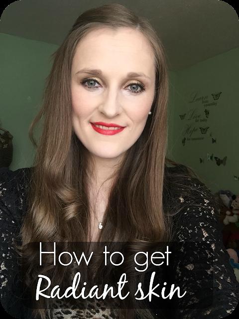 tips on getting glowing skin