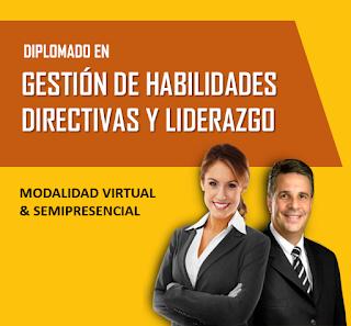 DIPLOMADO EN GESTIÓN DE HABILIDADES DIRECTIVAS Y LIDERAZGO
