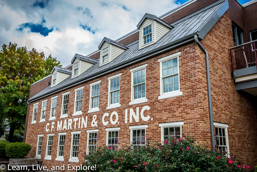 The C F  Martin & Co  Factory Tour - If you don't own a