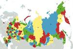Mapa de la Federación Rusa