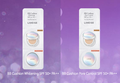 Laneige Malaysia Free Sample BB Cushion Whitening Pore Control