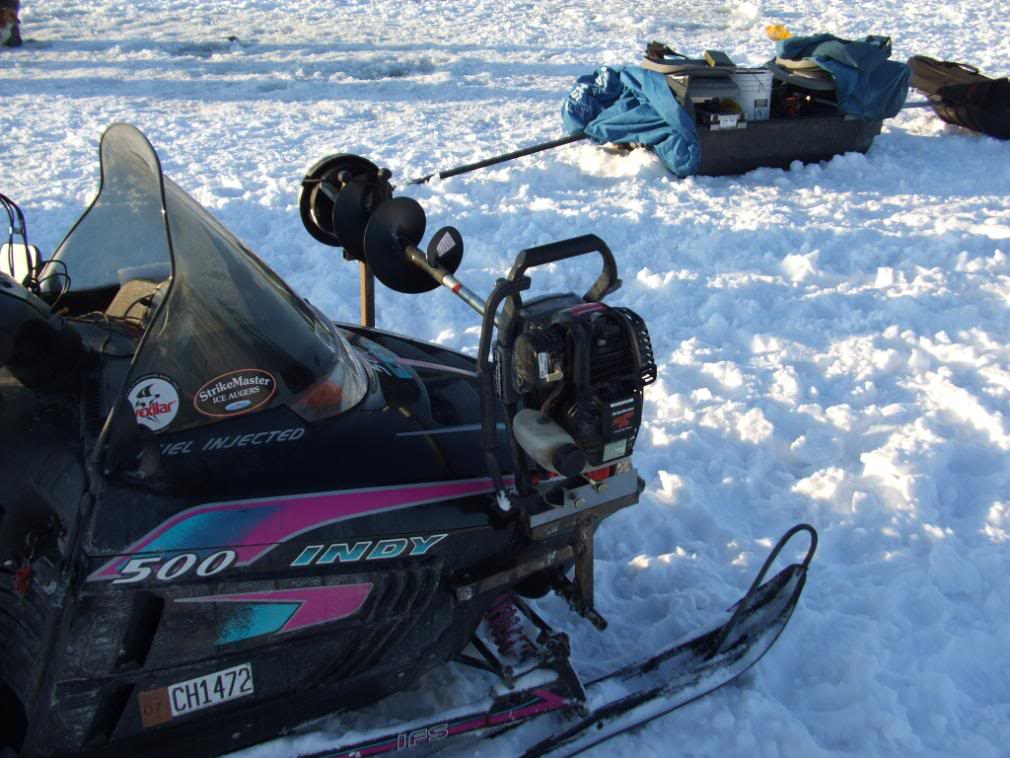 Polaris Sportsman Ice Auger Mount | Jaws Of Ice |Ice Auger Mount