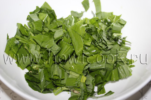 рецепт салата с черемшой с пошаговыми фото