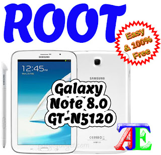 CF Auto Root Galaxy Note 8.0 GT-N5120
