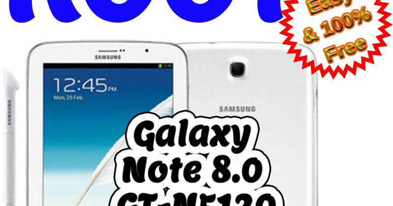 How to Root Samsung Galaxy Note 8 0 GT-N5120 V  4 4 2 NH3 KitKat