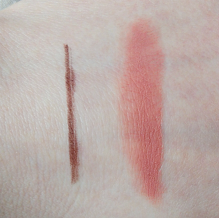 Rosie For Autograph make-up swatches