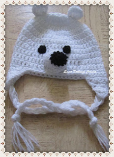 cute crochet animal beanie