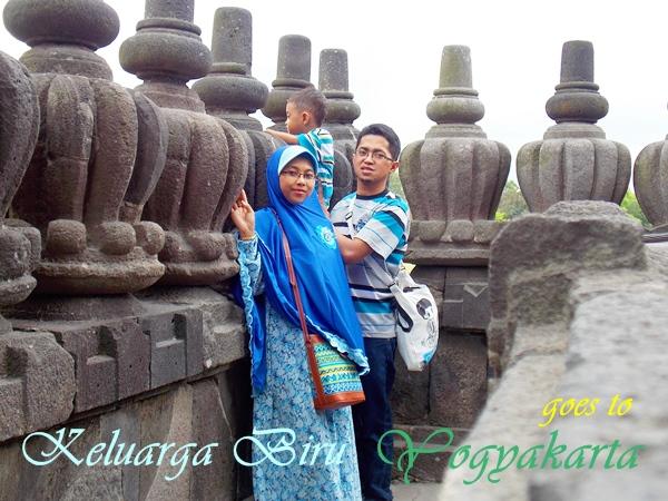Keluarga Biru goes to Yogyakarta