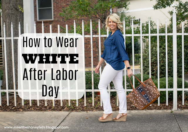 WEARING WHITE AFTER LABOR DAY