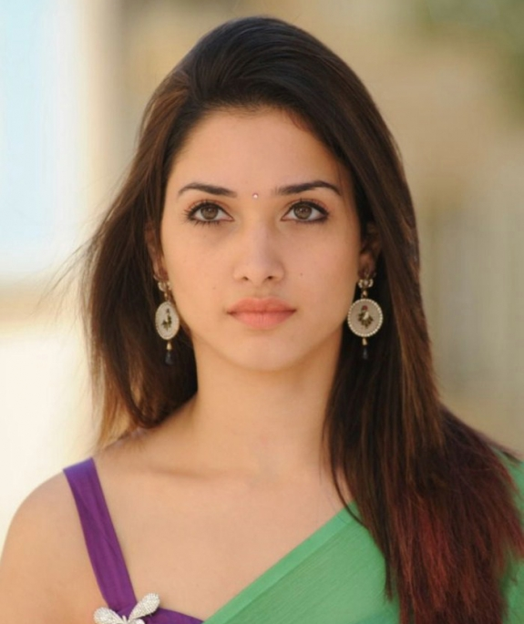 Tamanna In Saree In Rebel: Tamanna Latest Green Saree Stills
