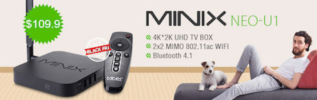 Minix U1 Android TV Box