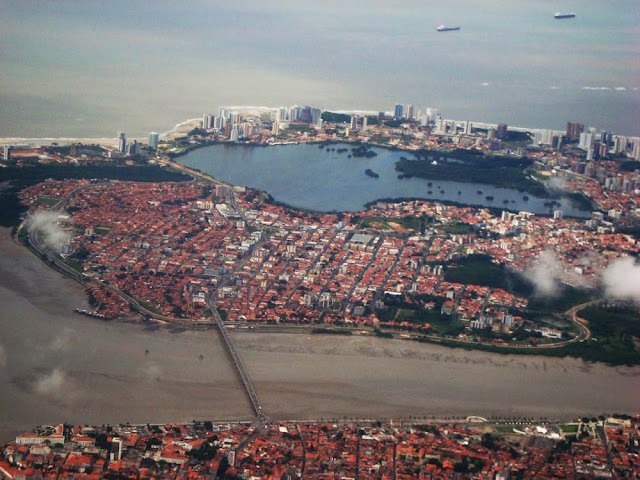 Vista aérea de São Luis - MA
