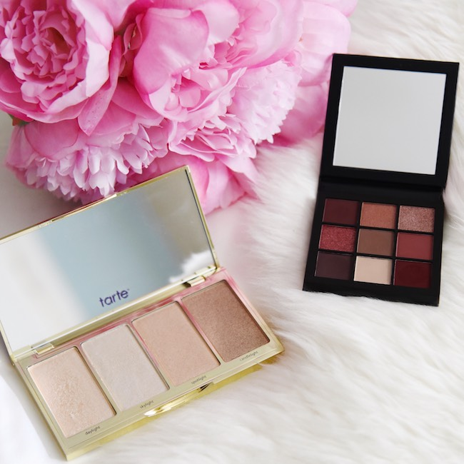 d893df0ffe4 Huda Eyeshadow Palette | Too Faced Mascara | Tarte Highlighter Palette |  Origins Moisturizing Lotion | Tarte Lash Primer · Huda Beauty Mauve  Obsessions ...