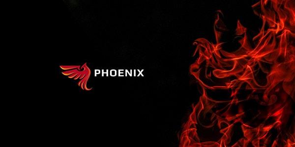 Inspirasi Desain Logo Kreatif 2017 - Phoenix Logo Design