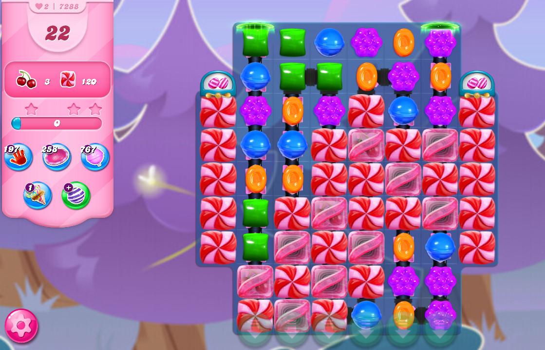 Candy Crush Saga level 7288