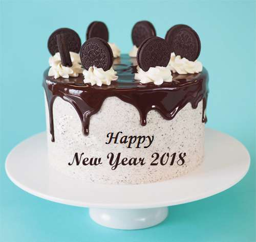 happy new year cake 2018 hd images photos
