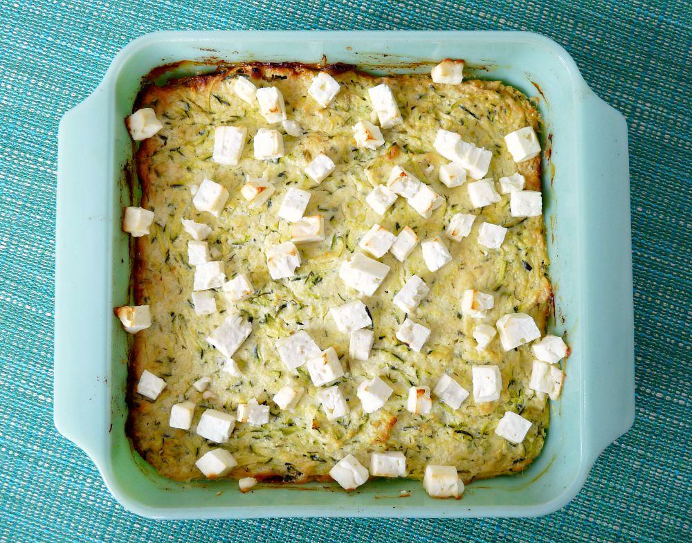 """Zucchini Ricotta """"Cheesecake"""""""