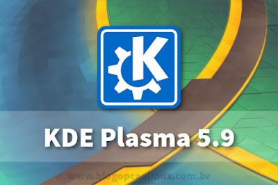 Lançado o KDE Plasma 5.9