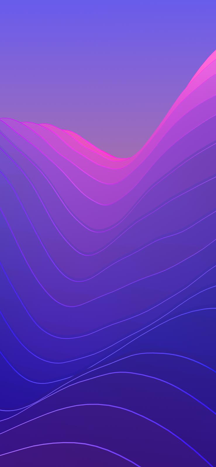 Oled Wallpaper Iphone X Iphone X 高解析度幾何幻想桌布下載 愛瘋日報 最精準的蘋果媒體