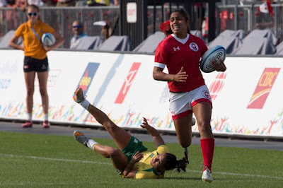 Canada vs Brazil PyeongChang 2018 Rugby Sevens
