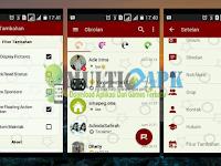 BBM Mod Red Elegant Versi 3.0.0.18 Apk Terbaru