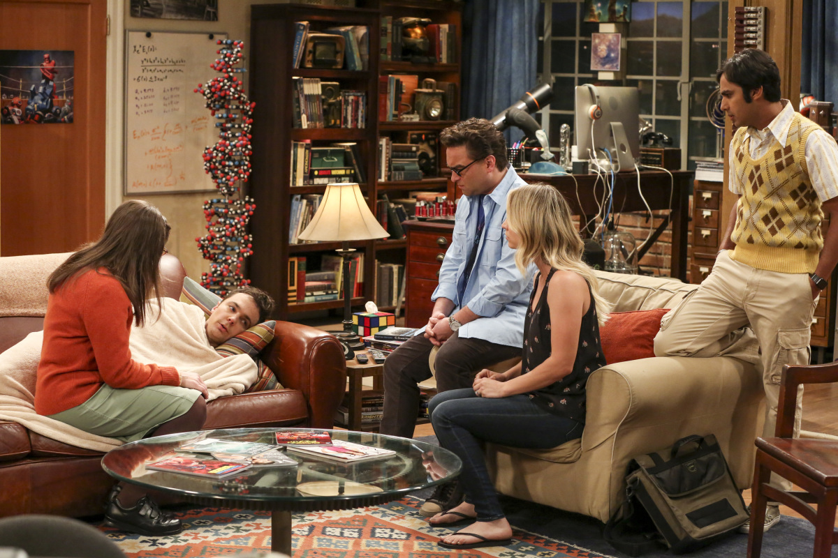 Sheldon en 'The Big Bang Theory' 10x20 The Recollection Dissipation