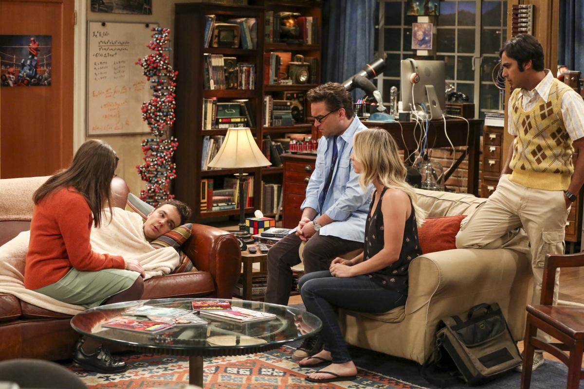 Sheldon en 'The Big Bang Theory' 10x20 The Recollection Dissipation