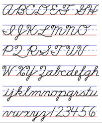 The Word Everything In Cursive