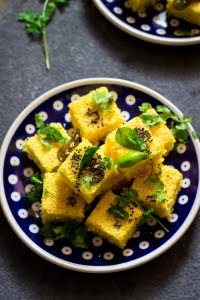How to make instant khaman dhokla recipe at www.oneteaspoonoflife.com