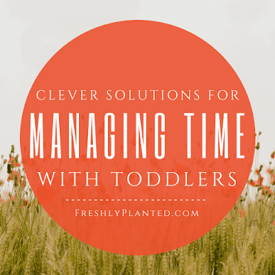 Life with toddlers? Not easy! These solutions are so helpful.