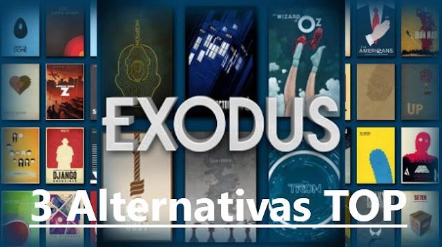 Top 3 Alternativas ao Exodus