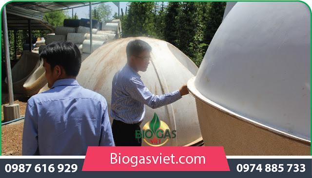 xử lý nước thải bằng hầm bioags