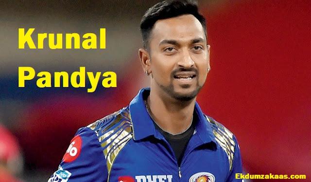Krunal Pandya Biography