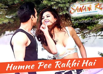 Humne Pee Rakhi Hai - Sanam Re (2016)