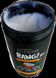 Testei Máscara Nutritiva Bang Óleo de Coco Tutanat