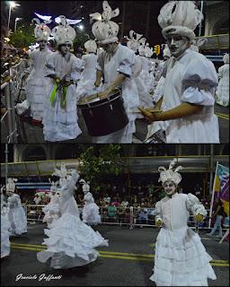 Desfile Inaugural del Carnaval. Uruguay. 2017 Murga La Lunática