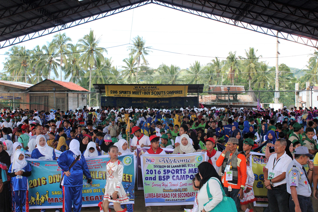Saguiaran Municipality hosts Lanao del Sur-I Sports Meet, Camporee