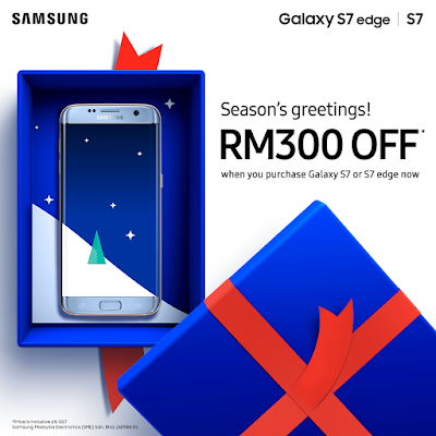 Samsung Mobile Malaysia Galaxy S7 or S7 edge Discount Offer Promo