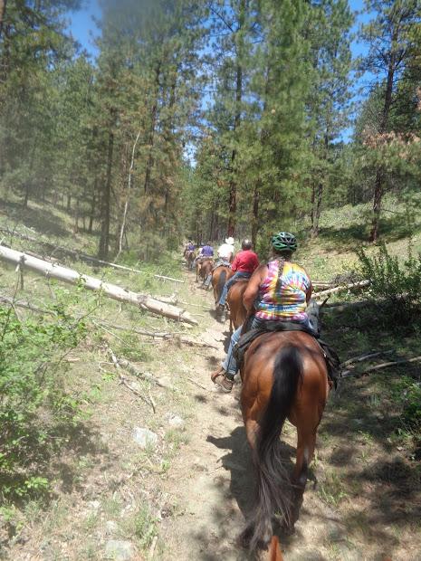 Methow Valley Country Horsemen 2017 Boulder Creek