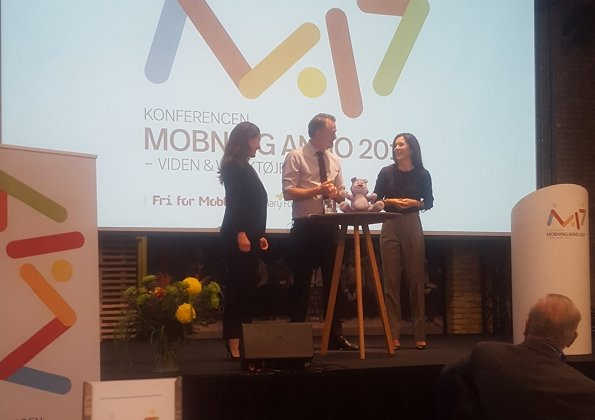 Crown Princess Mary attended 10th Free of Bullying (Fri for Mobberi) conference