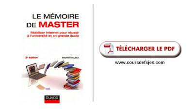 Télécharger Le mémoire de master 3e éd PDF